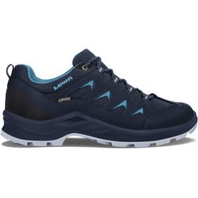 Lowa Levante GTX Low Shoes Women navy/turquoise